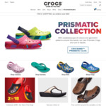 $10 off ($35 Minimum Spend) at Crocs