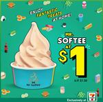 Cup of Mr. Softee for $1 at 7-Eleven