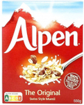 Muesli Original ALPEN for $5.95 from Cold Storage