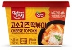 DONGWON Cheese Topokki 120g for $1.65 from Cold Storage