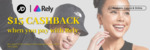 $15 Cashback ($150 Min Spend) with Rely Payments at JD Sports