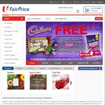 Free Delivery When You Spend over $80 at NTUC FairPrice