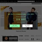 20% off Sitewide at Zalora ($120 Minimum Spend) [Extra 3% off with UOB Lady's Card - $150 Minimum Spend]