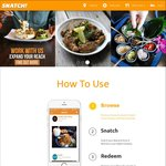 1-for-1 Various Mains/Sides at NOM, Kanshoku Ramen, Little Diner, Saveur Art + More via Snatch (App Req'd)