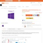 Windows 10 Pro Professional Cd-Key (32/64 Bit) US $12.69 (~SG $17), Office 2016 Pro Plus (1 User) US $27.52 (~SG $37) @ G2Deal