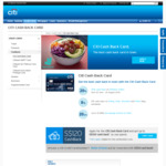 8% Cashback on Dining, Grab and Grocery CITI CASH BACK CARD + $120 Sign-up Bonus