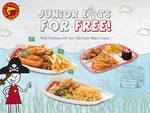 Juniors Eat Free with Any Ala-Carte Main Course Purchase at Manhattan Fish Market