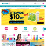 $10 off ($60 Minimum Spend) Sitewide at Watsons