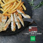 1 for 1 Grill Combo at The Soup Spoon via GrabFood