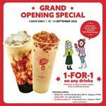 1 for 1 Drinks at LiHO (Instagram, Facebook & Telegram Required) [Raffles City, Kallang MRT, Woodlands Galaxy CC]