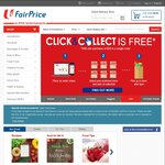 Free Delivery For New Customers Spending over $60 at NTUC FairPrice