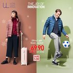 UNIQLO - Ultra Light Down Jackets for $64.90 (U.P. $99.90) Delivered