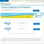 Singapore to Philippines (Cebu, Clark, Davao, Iloilo or Manila) from $85 via Cebu Pacific
