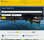 $30 USD off $40 USD / £30 off £40 Spend (Things to Do Category Worldwide) @ Expedia US/UK
