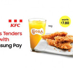 3pcs Chicken Set with Regular SJORA for $2 (U.P. $7.80) at KFC [Samsung Pay Payments]