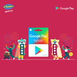 10% off Google Play Gift Cards Over $50 at Cheers / FairPrice Xpress (Selected Stores)