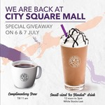 Free Coffee or Ice Blended Drink at The Coffee Bean & Tea Leaf (City Square Mall)