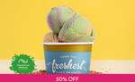 1 for 1 Single Scoop Ice Cream ($5.90) at New Zealand Natural via Fave [previously Groupon]