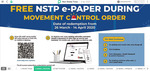 1 Month e-paper FREE during MCO (HM+BH+NST Digital)
