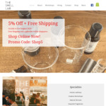 5% Off + Free Shipping @The Smell Lab