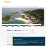 $4 off Grab Rides To/From Sentosa + Free Entry to Sentosa via Sentosa Express/Drive In