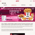 Celebration Feast for $41.95 (U.P. $60.50) + Free Walch Limited Edition Automatic Hand Wash at KFC