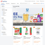 Free Laundry Bag with $30 Min Spend on Participating Unilever Laundry Products at FairPrice On