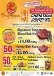 $14 for 500g of Signature Tender Sliced Bak Kwa (U.P. $26) or Honey Bak Kwa (U.P. $28) at Fragrance Bak Kwa