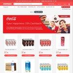 Extra 25% Cashback from Coca-Cola at Lazada via ShopBack
