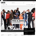 20% off Sitewide (Includes Sale Items) at ASOS [Black Friday Offer]