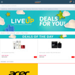 $12 off $40 L'Oreal Paris, $9 off $30 Maybelline, $12 off $50 Durex, $50 off $600 Acer Products @ Lazada