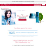 Free Hydra-Essentiel Duo Sample (Bi-Phase Seurm & Light Cream or Cooling Gel) from Clarins [Collect In-Store]