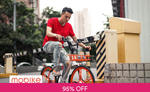 $2.25 for a 180 Day Mobike Pass (Instead of $5) [U.P. $54.90] via Fave [previously Groupon]