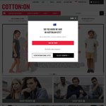 Cotton On - 25% off Full Priced Items + Buy 1 Body Item Get Another at 51% off