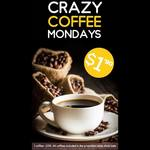 $1.90 Coffees Every Monday at Chulove Café
