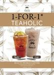 1 for 1 Tea at Kopifellas (Beauty World Food Centre)