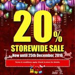 20% off Storewide at Action Toyz (Harbourfront Location)