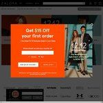 18% off ($100 Minimum Spend) or 19% off Sitewide ($110 Minimum Spend) at Zalora