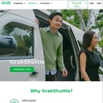 3 Free Rides with GrabShuttle