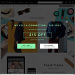18% off Sitewide at Zalora ($120 Minimum Spend) (App Only)