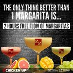 $15++ for 2 Hours of Free Flow Margaritas (Chicken Up Centrepoint)