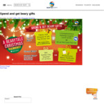 Spend $50, Get Bear Gift + Free Parking or $2 ez-link top up | Spend $120, Get $10 Suntec Voucher @ Suntec City (17/11-25/12)