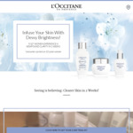 Free 3-Day Reine Blanche Trial Kit from L'Occitane (Collect-In Store)
