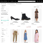 Up to 80% off Last Sizes + Extra 25% off on Top at Zalora