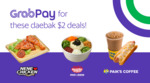 $2 GrabPay Deals: 2pc Chicken from NeNe Chicken, Spicy Cold Noodles from Paik's Bibim or Coffee & Hotdog from Paik's Coffee
