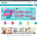 $20 off ($80 Min Spend) and $33 off ($120 Min Spend) Sitewide at Watsons