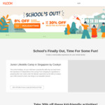 Klook School's out Sale (up to 30% off Selected Activities)