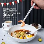Mee Siam with Small Kopi/Teh for $5.50 (U.P. $7.50) at Toast Box