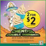 2x Chendol Mr. Softee for $2 at 7-Eleven