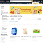 $8 off ($88 Min Spend) on Early Stock Up Grocery Products at Amazon SG